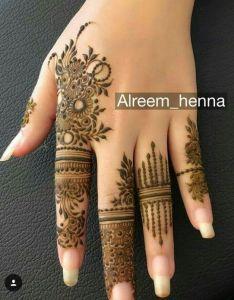 Easy mehndi designs beautiful henna tattoo mehandi tattoos finger hena art also pin by anaya ansari on heena pinterest rh za
