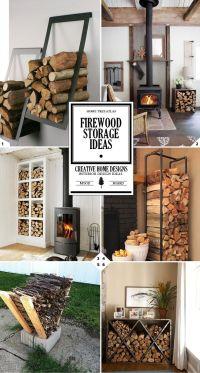 A Crackling Fire: Indoor Firewood Storage Ideas | Indoor ...