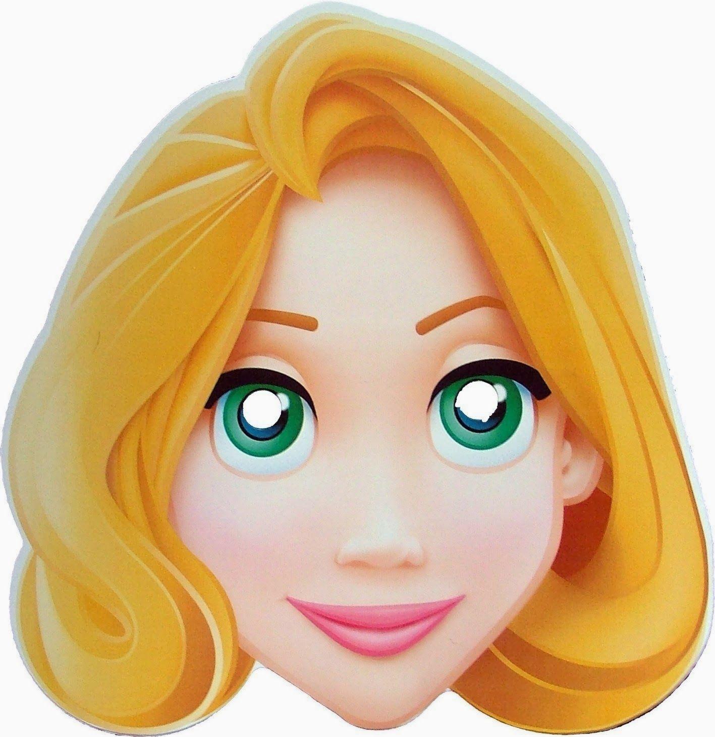 Rapunzel Template Face