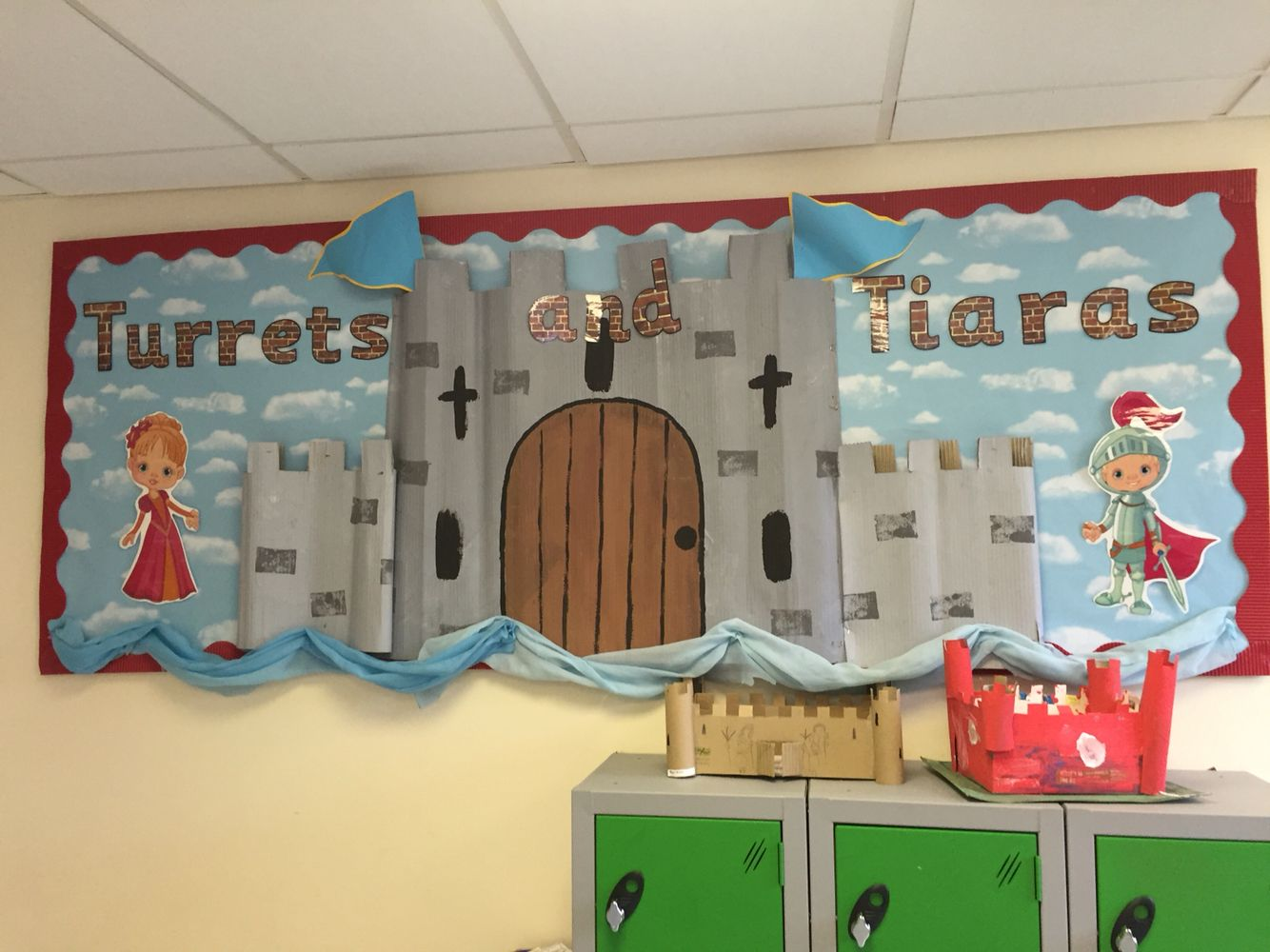Turrets And Tiaras Castle Classroom Display