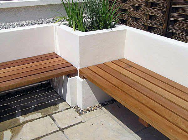 Built In Garden Seating Side Yard Pinterest Garden Benches