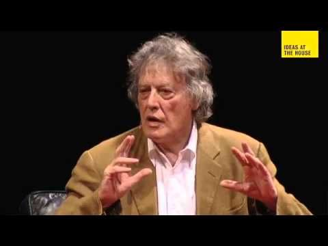 """Ideas At The House """"Tom Stoppard In Conversation With Jonathan"""