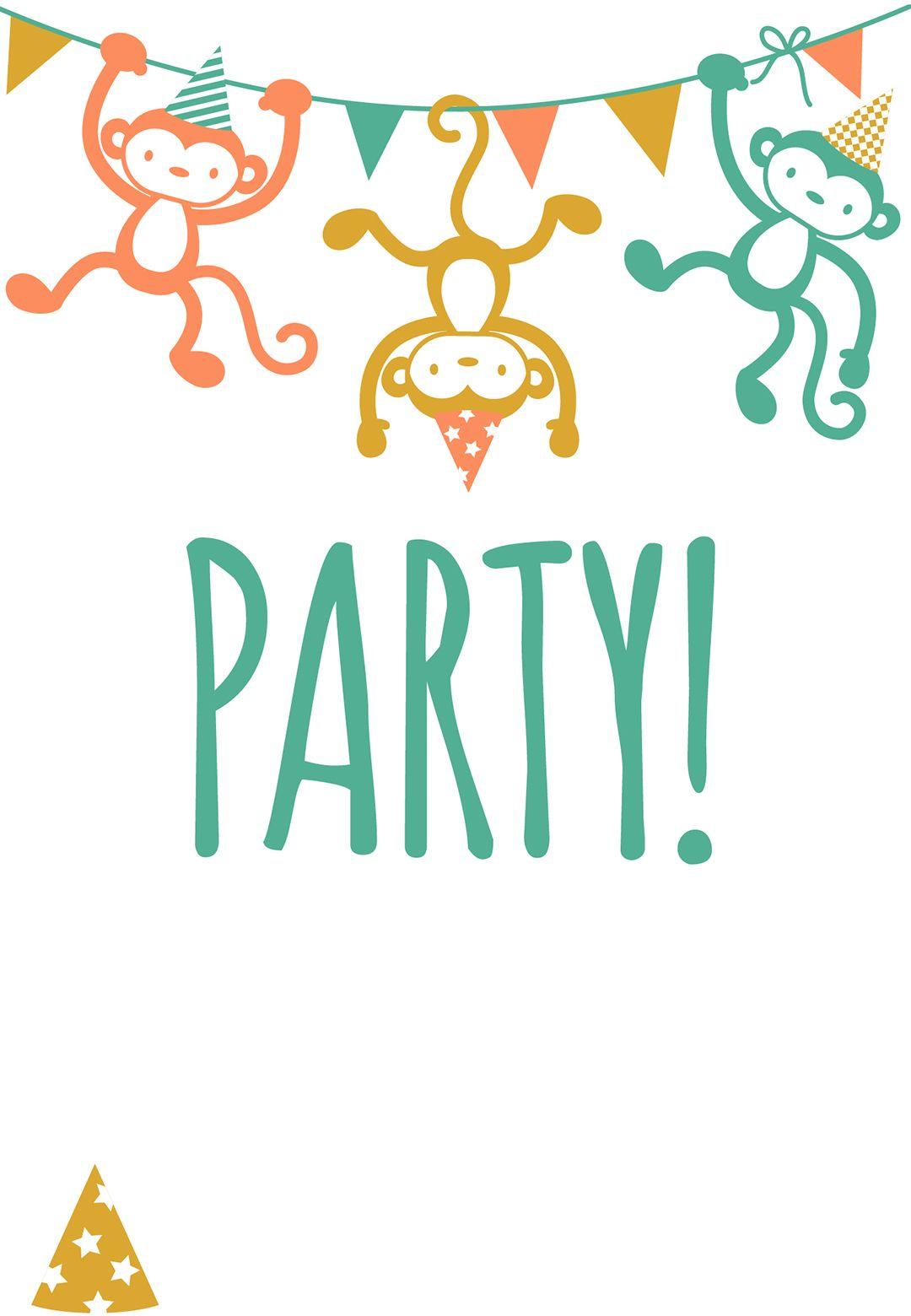 Free Printable Childrens Party Invitation