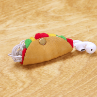 DIY Taco Earbud Holder | Nifty Creative Home | Pinterest ...