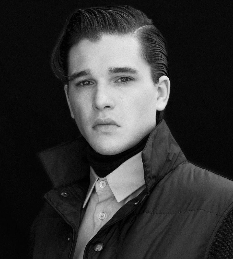Kit Harington Retro Hairstyle Gorgeous Men Pinterest Retro