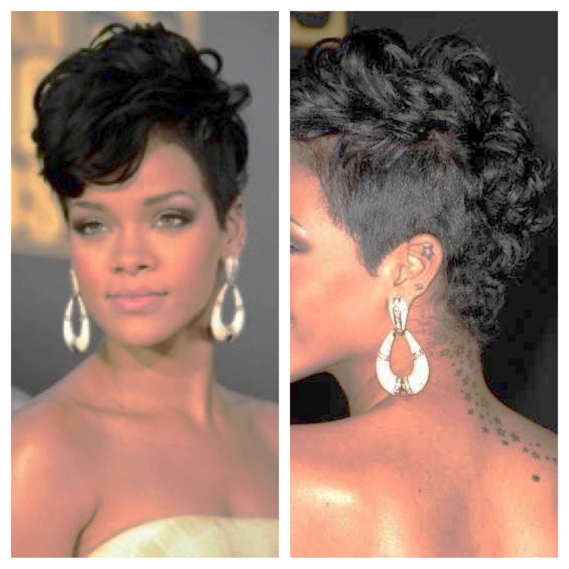 Rihanna Mohawk Google Search Hair & Makeup Pinterest