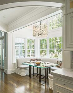 Designing traditional indoor outdoor spaces banquettes interiors and kitchens also rh pinterest