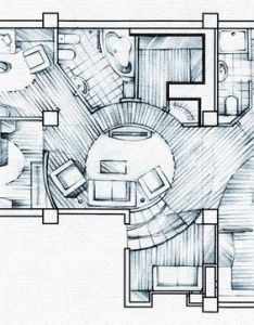Interior sketchbook  by andrey bondarenko via behance also houses rh nz pinterest