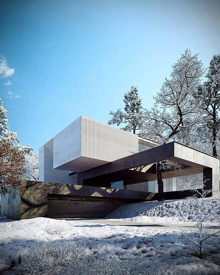 Modern Architecture Design Mimicking The Outdoors