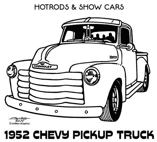 Clip Nomad Art Chevy 55