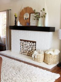 Fake a Stack of Wood Logs in Your Fireplace!   Birch, Logs ...
