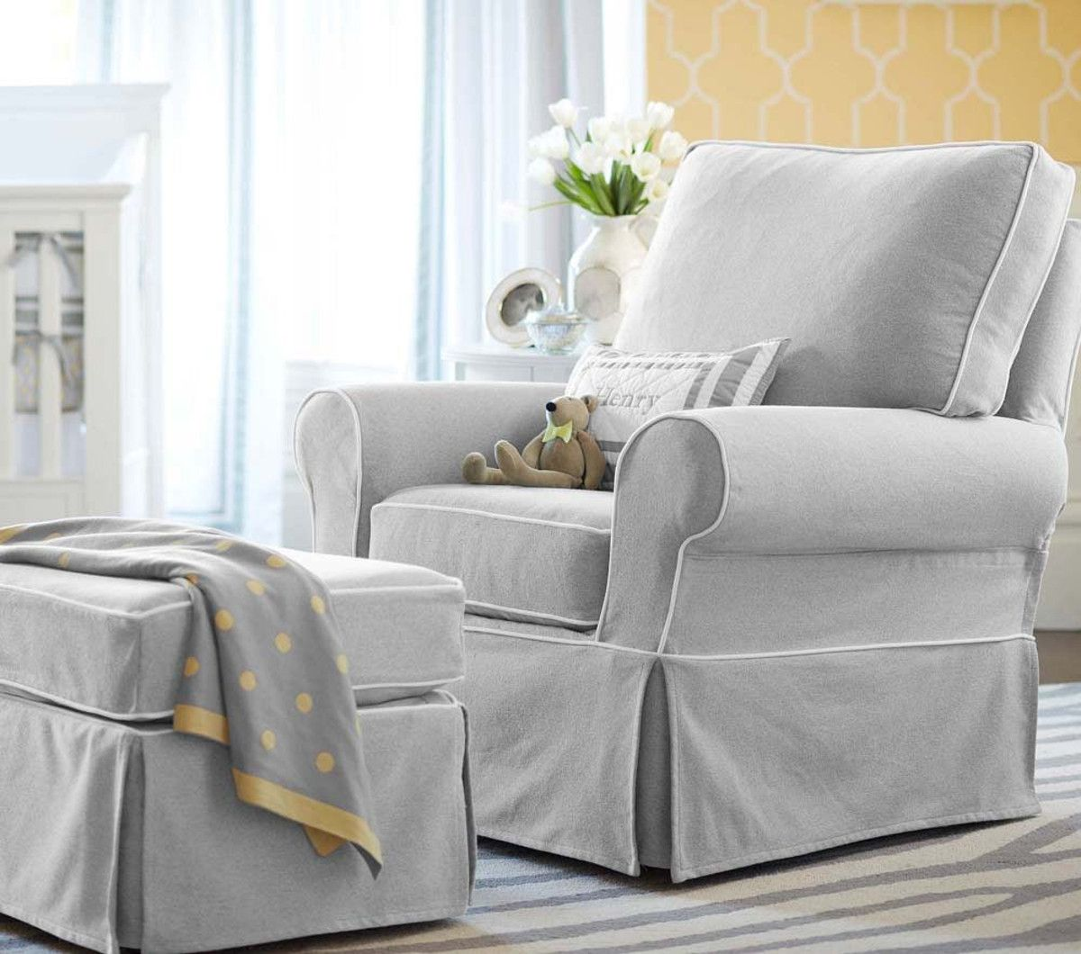 comfy nursing chair dining covers jysk the most comfortable and ottoman comfort