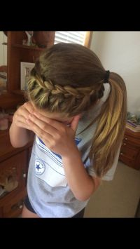 Cute Hairstyles For Volleyball Players | volleyball hair ...