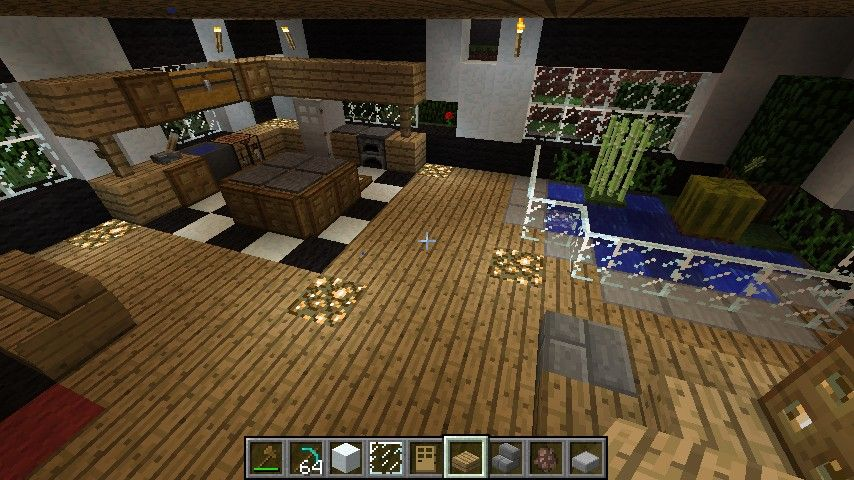 Minecraft House Interior 02 Minecraft Pinterest