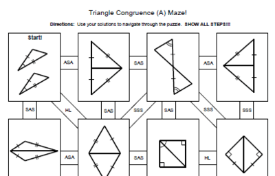 Practice 4 2 Triangle Congruence By Sss And Sas Worksheet