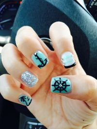 Cruise Nails on Pinterest | Nails, Nail Art and Nautical Nails
