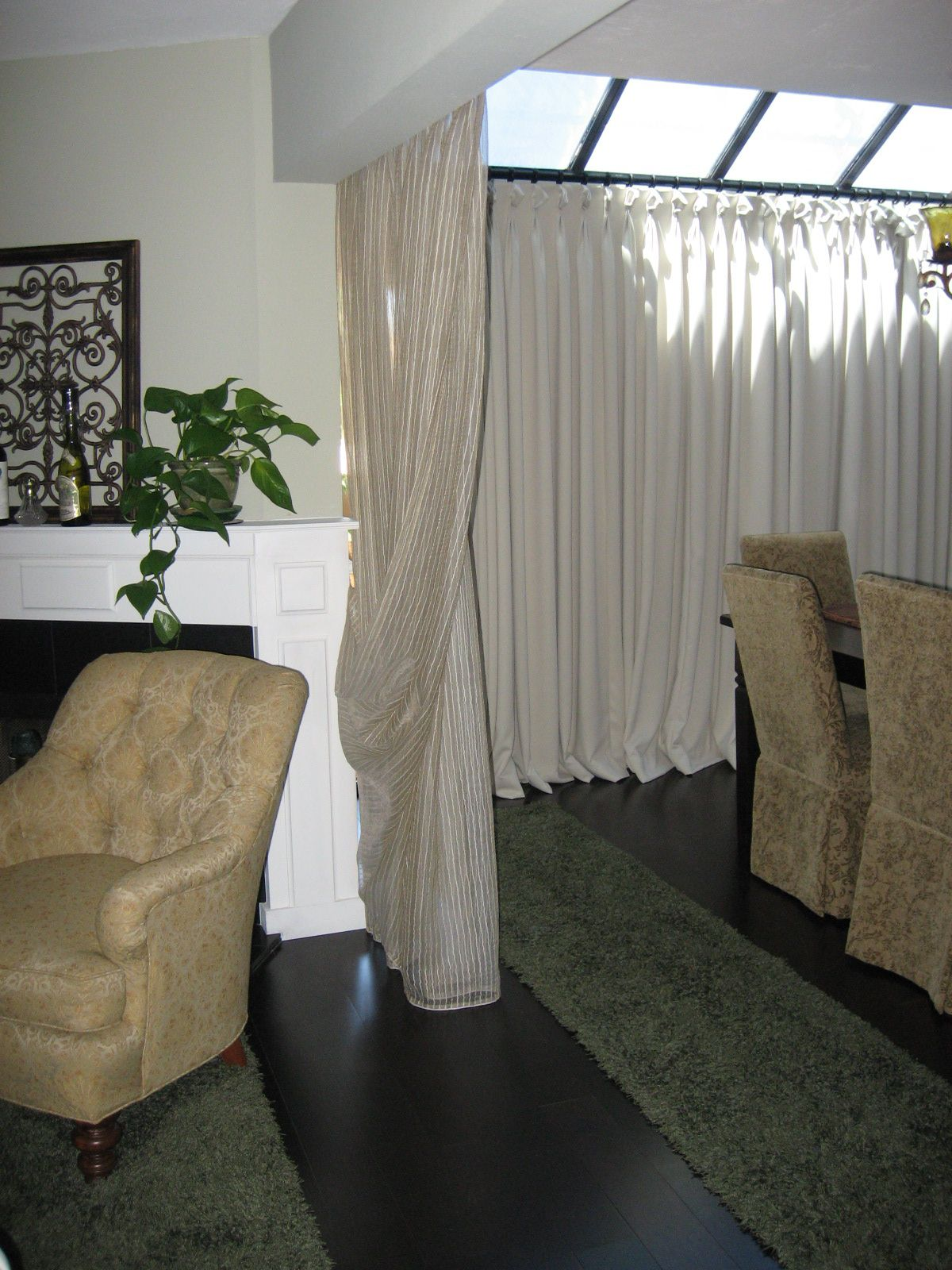 Portable Curtain Room Dividers