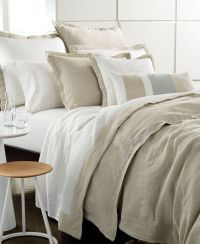 Hotel Collection Linen Natural Full/Queen Duvet Cover ...