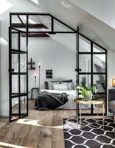 Attic scandinavian homescandinavian interior also pin by rene flores on design pinterest bedrooms rh