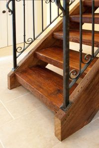 Reclaimed Antique Wood Stair Parts - Mountain Lumber ...