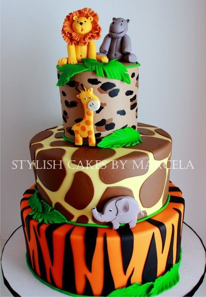 Safari Birthday Cake Ideas