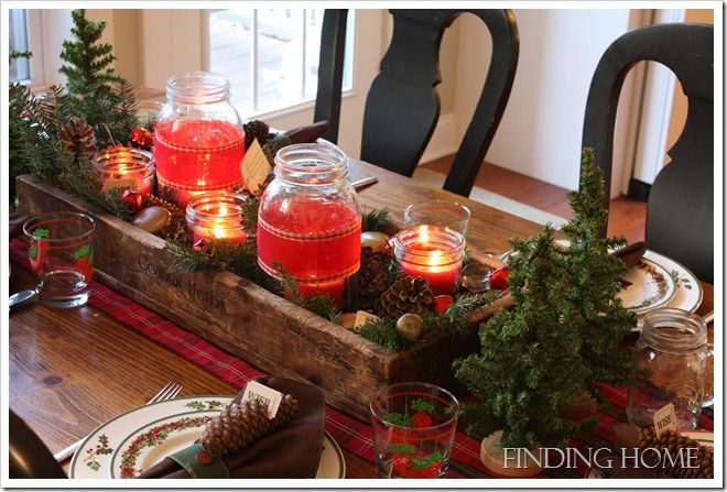 christmas table of wishes