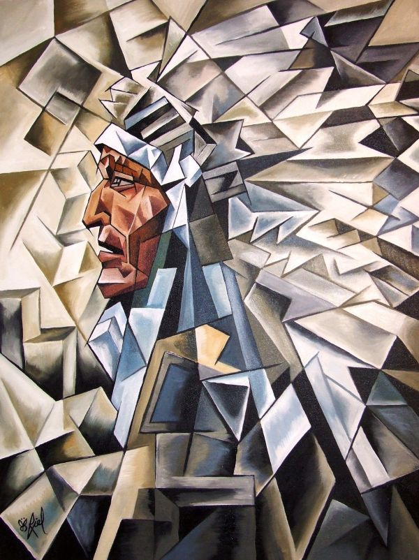 Native American Art Cubism