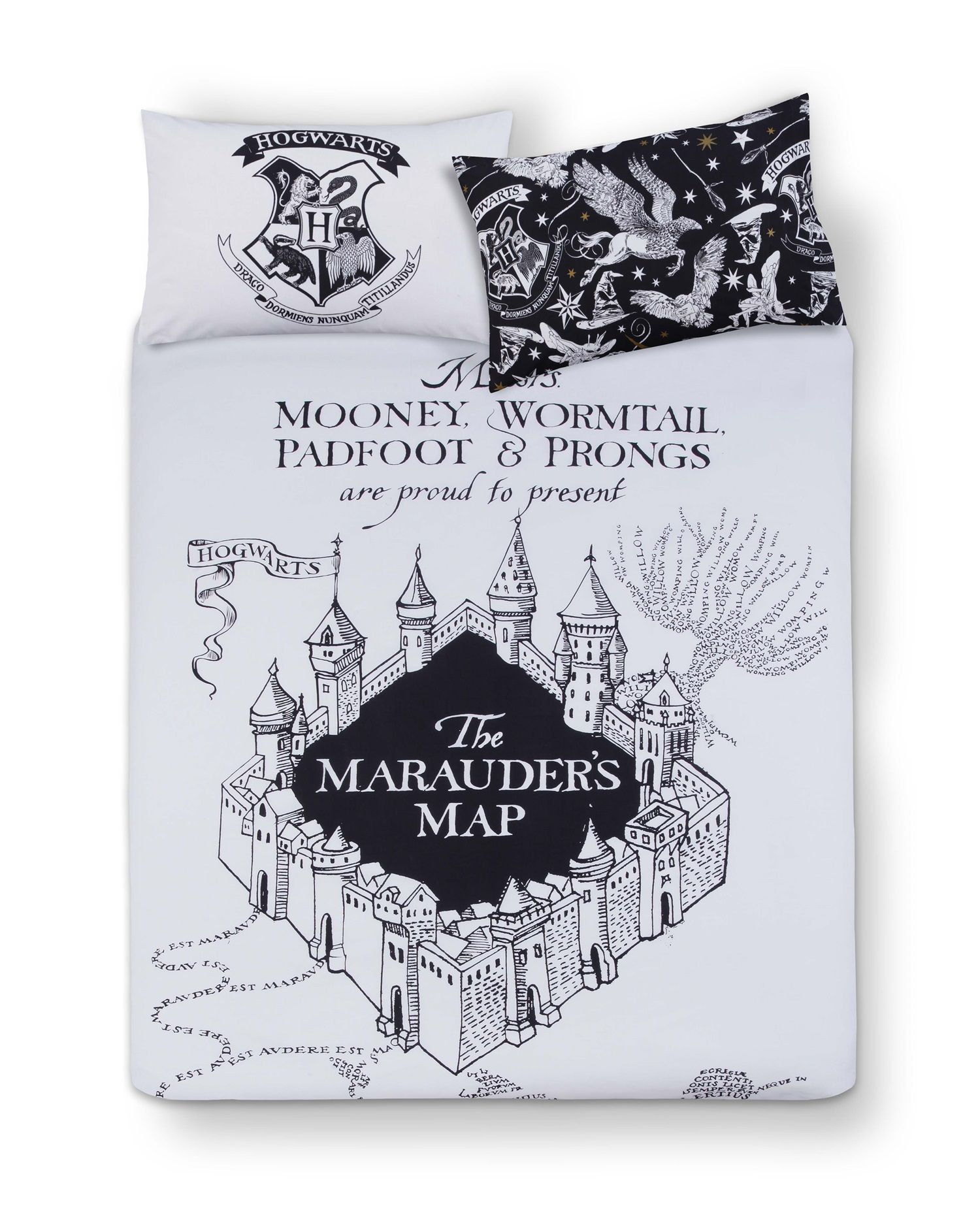 Primark  Harry Potter Mono Double Bed Set  Bedroom and