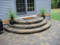 Image result for round patio steps | House addition ...