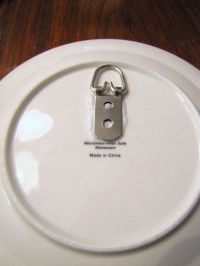 How to hang plate with wall hanger | Craft Ideas ...