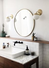 "30"" Metal Framed Mirror - Round 