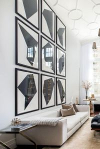 24 Ideas on How to Decorate Tall Walls | Le Dcoration ...