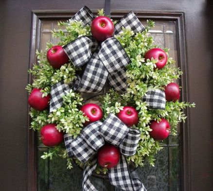 Image result for apple wreath