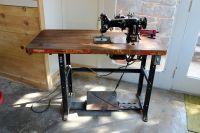 A Sewing Life: Pfaff 130 in an Industrial Table   Art ...