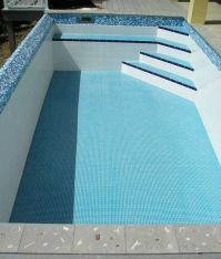 pools with waterline tiles - Google Search | Pool ...
