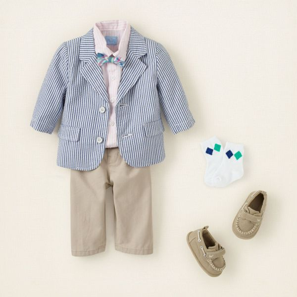 Newborn Baby Boy Easter Outfits