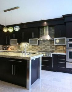 Look at these luxury kitchen designs some days ago we try to collected add your in home interior also mosaic backsplash interiors pinterest rh za