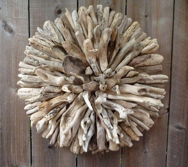 Driftwood Wall Art Ideas Heart