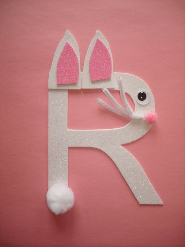 Preschool Art Rabbit Letter Play And Learn With Dana Alphabet