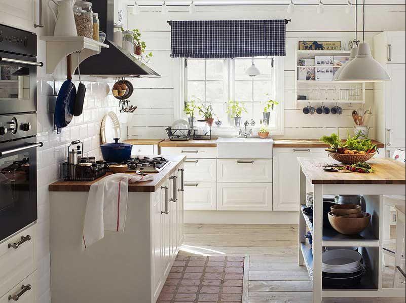 Schone Ikea Landhauskuche - Enbois | {Ikea küchen landhaus weiß 61}