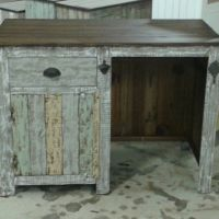 Outdoor mini bar with storage cabinet, drawer and mini ...