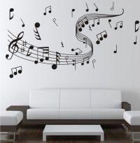 Music Note Wall Stickers Decor | Home Wall Decor ...