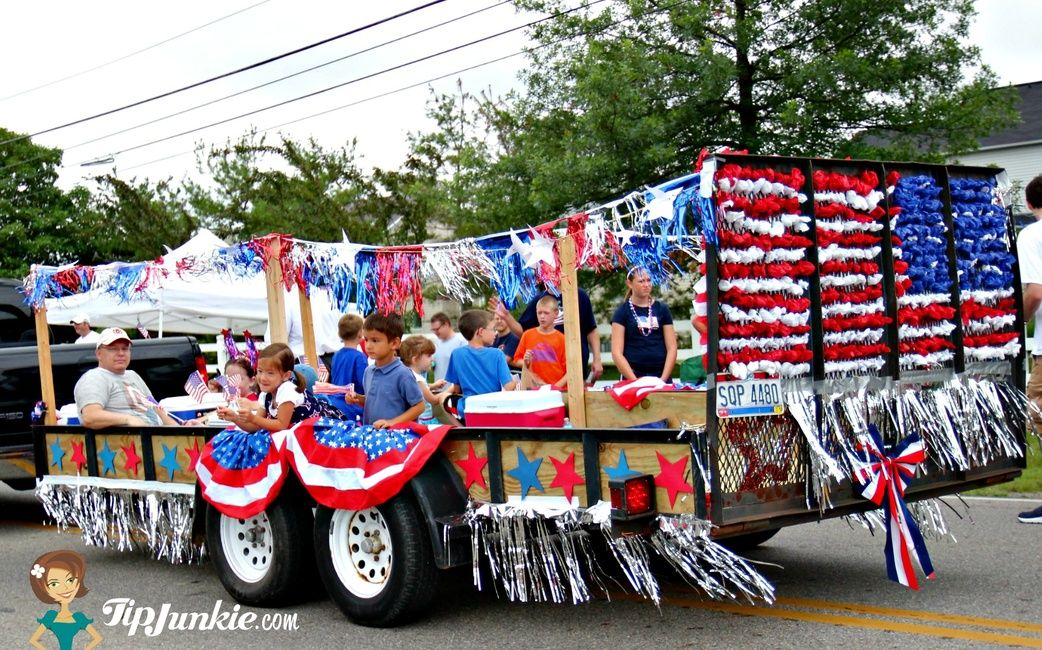 Parade Float Ideas for July 4th