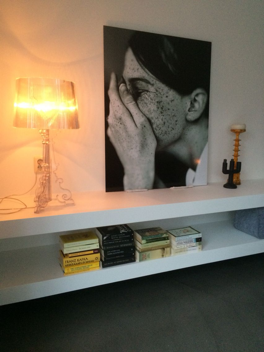 TV meubelkast zwevend strak wit Ideaal voor XL styling