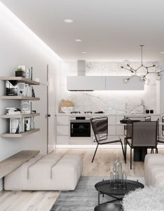 It doesn  take  lot to make beautiful space in fact is the editing of furniture and even color that true style discovered also strathmore kyde architects kitchen pinterest rh uk