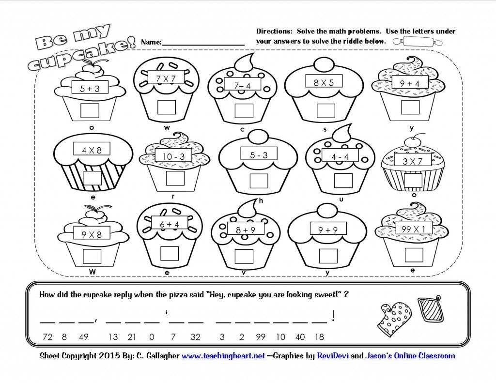 Worksheet Math Riddle Worksheets Grass Fedjp Worksheet Study Site