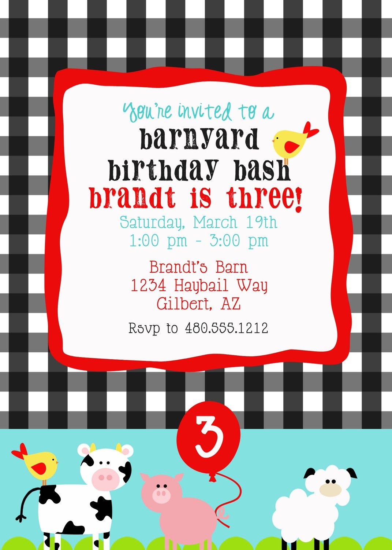 Printable Party Invitation