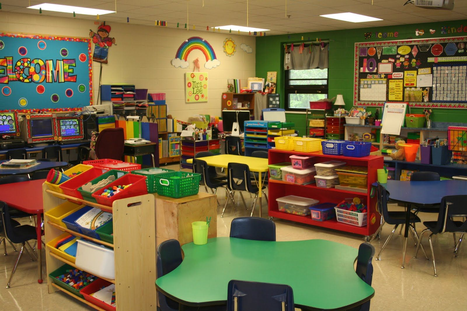 Preschool Classroom On Pinterest