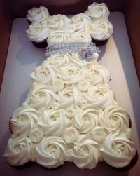 Bridal shower cupcake idea | Craft Ideas | Pinterest ...