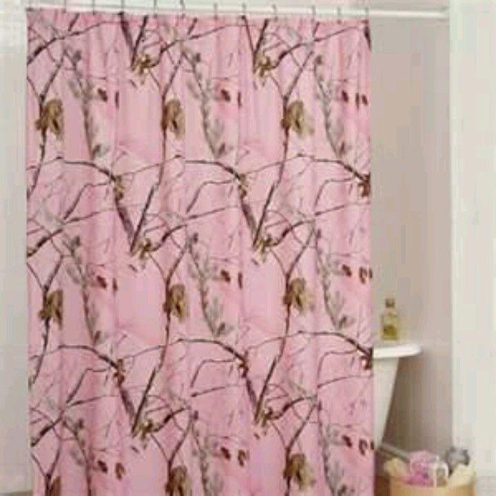 Pink Mossy Oak Shower Curtain Pink Mossy Oak Pinterest Pink